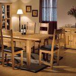 garnet masif oturma / yemek odası takımı