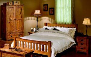 garnet masif yatak odası takımı