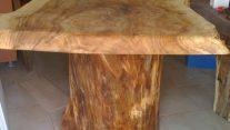 Kütük Yemek Masası | Rustik Masa