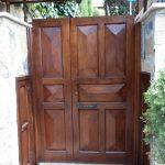 özel tasarım ahşap kapı